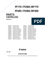 Canon PIXMA MP170 MP450 Parts Catalog