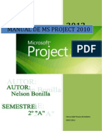 Manual Ms Proyect