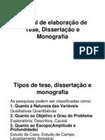 2 - Manual de Elaboracao de Tese e Disertacao Slides Andre