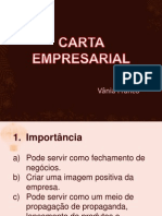 Carta Empresarial Aula