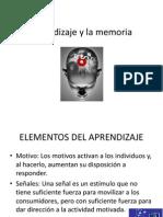 Aprendizaje y La Memoria Clase 9