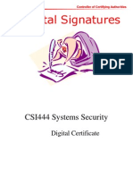 Digital Signature Presentation