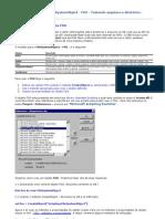 Usando o FileSystemObject - FSO - Tratando arquivos e diretórios
