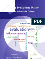 2011 - Guide to Making Evaluation Matter