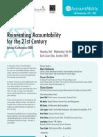 Accountability 21 Programme