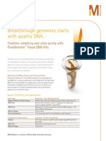 PureGenome Tissue DNA Kits