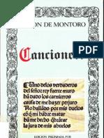 Cancionero de Anton de Montoro