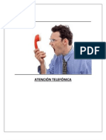 Informe sobre atencion telefónica