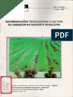 RECOMENDAÇOES TECNICAS PARA O CULTIVO DO AMENDOIM NO.NORDESTE BRASilEIRO