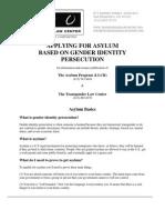 Asylum Fact Sheet