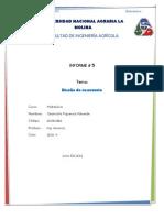 Informe de diseño de reservorio