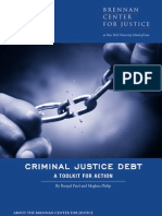 Criminal Justice Debt