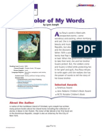 Color of My Words Guide