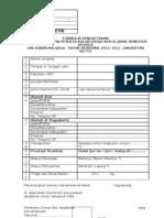Formulir Pendaftaran KKN Semester Khusus (Angk. 77)