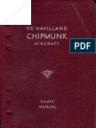 Dehavilland Dhc-1 Chipmunk 22 Pilots Notes