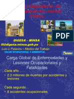 SALUD Y SEGURIDAD EN LOS TRABAJADORES DE LA LIMPIEZA PUBLICA EN EL PERU