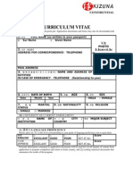 3 Application Document and Form