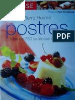 Larousse Postres Pierre Herme.
