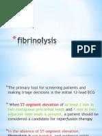 fibrinolysis