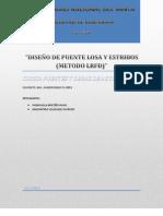 DISEÑO DE PUENTE LOSA Y ESTRIBOS (mejorado)