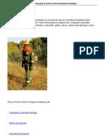 355 Equipos Proteccion Individual Contra Incendios Forestales