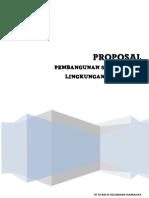 Proposal Pembangunan Drainase
