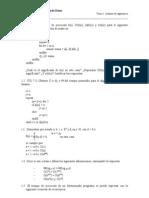 Ejercicios Analisis de Algoritmos