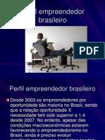 Empreendedorismo - cenário nacional e perfil do empreendedor 2012.1