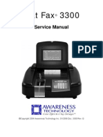 3300 Chem. Analyzer Service Manual
