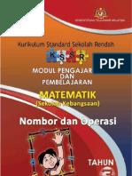 Modul P&P Nombor Dan Operasi Tahun 3 SK