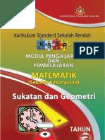 Modul P&P Sukatan Dan Geometri Tahun 3 SK