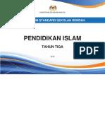 Dokumen Standard Pendidikan Islam Tahun 3