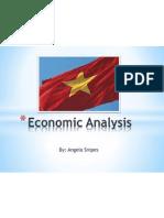 vietnam economic analysis and marketing plan presentation -angela snipes