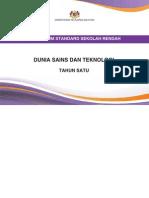 Dokumen Standard Dunia Sains Dan Teknologi SK Tahun 1