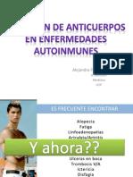 Anticuerpos en enfermedad auoinmune