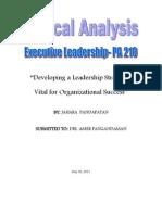 Case Analysis PA 210