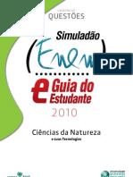 Simuladao Ciencias da Natureza ENEM