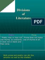 Divisions of Literature (3)