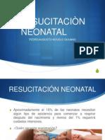 resucitación neonatal