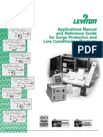 Leviton Applications Manual and Reference Guide for Surge Protection and Line Conditioning Products