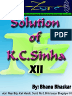 K.c.sinha Differentiation solutions