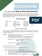 DataHog2 Configure for Kipp Zonen Pyranometers