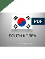 south korea cultural presentation - angela snipes