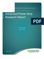 Advanced Powerstrip Research Report - NYSERDA