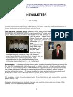 Newsletter 07 12