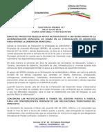 Boletin de Prensa 117