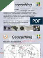 Geocaching-Präsentation