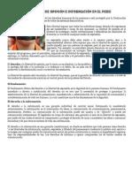 La libertad de opinión e información en el Perú