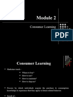 CB - Module 2 - Learning