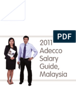 2011 Adecco Salary Guide Malaysia